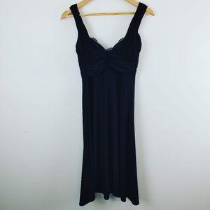 JOSEPH RIBKOFF| Black Sleeveless Dress Size 4